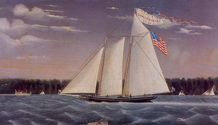 Джеймс Бард. Американский флаг