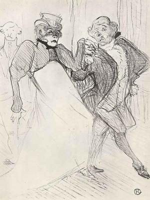 Henri de Toulouse-Lautrec. Regan and Galipo