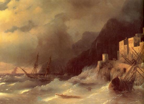 Ivan Constantinovich Aivazovski. Storm
