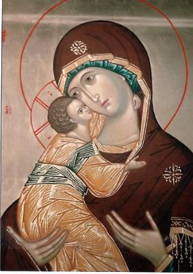 Irina Alexandrovna Ivanova. Icon Vladimirskaya B.M.