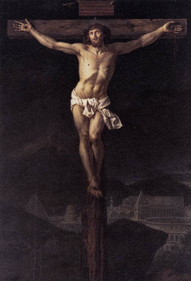 Jacques-Louis David. Christ on the cross