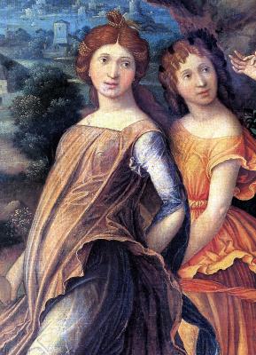 Andrea Mantegna. Mars and Venus, or Parnassus
