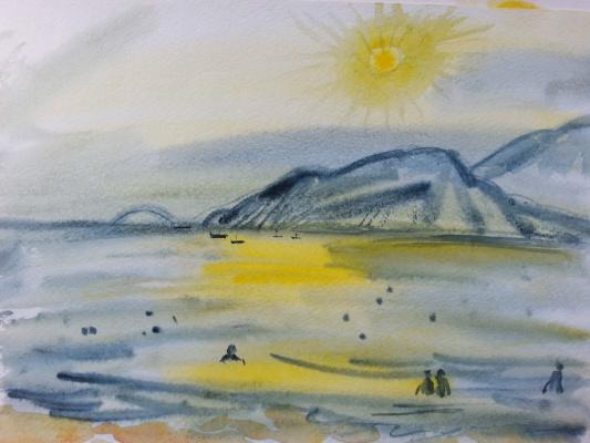 """Natalia Gennadievna Torlopova. The Series """"The Beach""""2"""