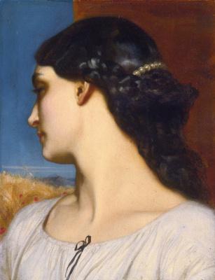 Frederic Leighton. Nanna (Sundial)