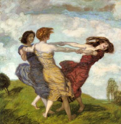 Franz von Pieces. Merry dance