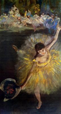 Эдгар Дега. Танцовщица кланяясь