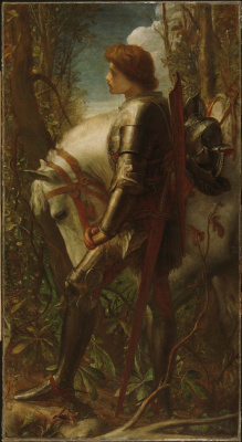 George Frederick Watts. Sir Galahad