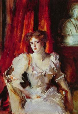 John Singer Sargent. Miss Eden