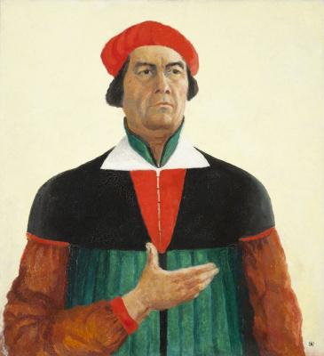 Kazimir Malevich. Self-portrait
