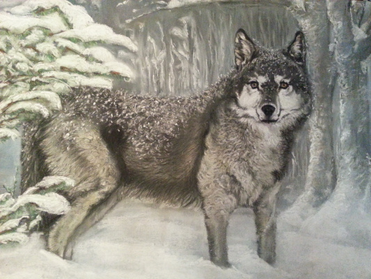 Anna Ruts. Волк