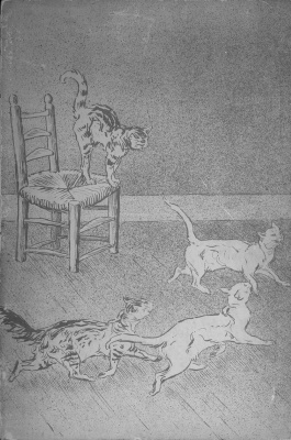 Theophile-Alexander Steinlen. Cats: pictures without words. Actors