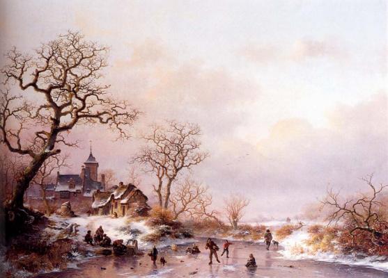 Фредерик Мариан Крусеман. Деревья зимой