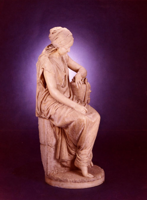 Джироламо Масини. Большая мраморная сидящая фигура Рут