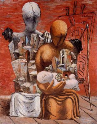 Джорджо де Кирико. Материнская любовь