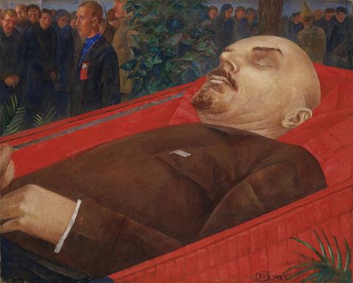 Кузьма Сергеевич Петров-Водкин. Ленин в гробу