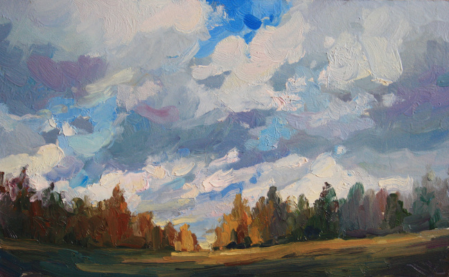 Violetta Dudnikova. Thunderclouds