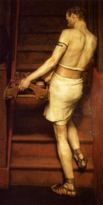 Лоуренс Альма-Тадема. Римский гончар