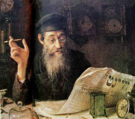 Yudel Pen. Watchmaker