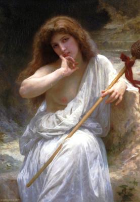 Bacchante. 1899
