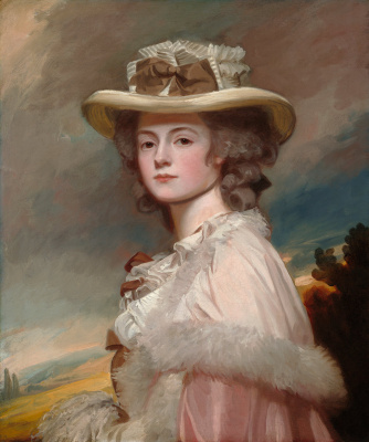 George Romney. Mrs. Davis Davenport