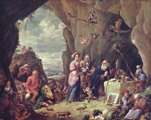 Давид Тенирс Младший. Искушение св. Антония