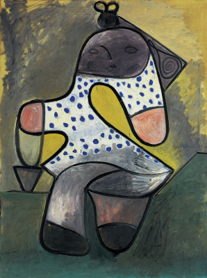 Pablo Picasso. Child with bucket