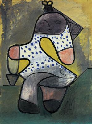 Пабло Пикассо. Ребенок с ведерком