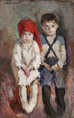 Гелий Михайлович Коржев. Серия «Дети войны»: Брат и сестра