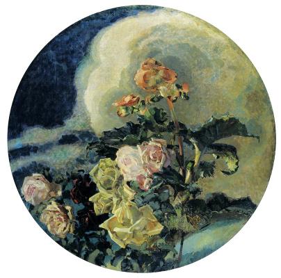 Mikhail Vrubel. Yellow roses