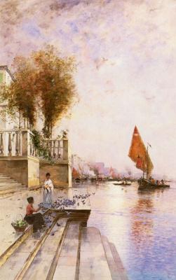 Вильгельм фон Гегерфельт. Венецианский канал