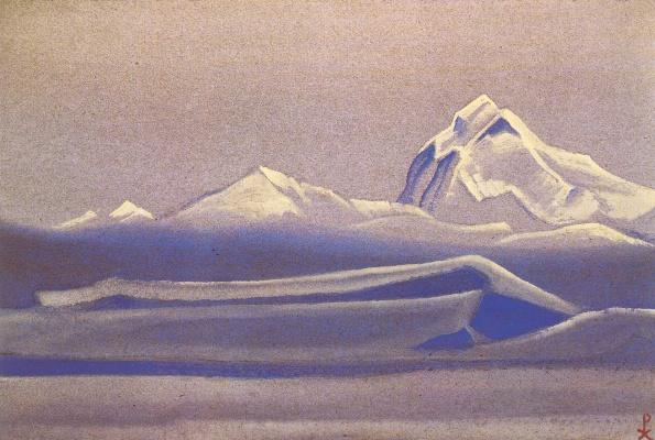 Nicholas Roerich. Tibet (Silence)