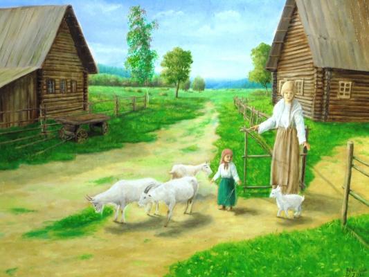 Вадим Маслов. Маленькая пастушка