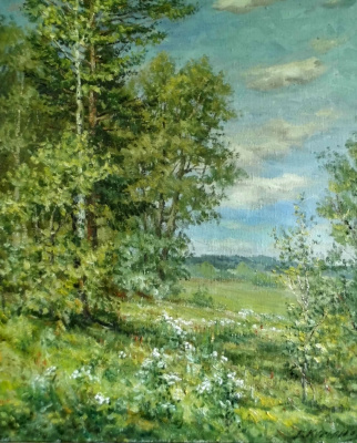 Victor Vladimirovich Kuryanov. Goutweed grass