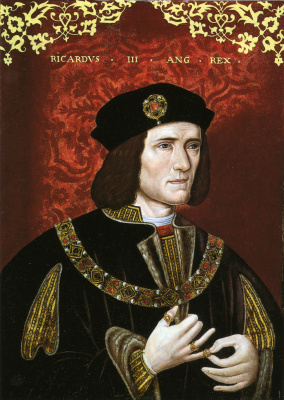 Masterpieces of unknown artists. Richard III, King of England (1452 - 1485)