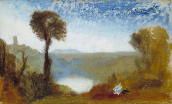 Joseph Mallord William Turner. Lake Nemi.