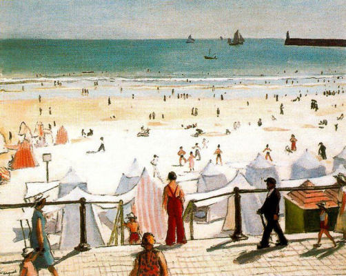 Albert Marquet. Beach