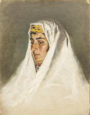 Василий Васильевич Верещагин. Арабская женщина в Иерусалиме