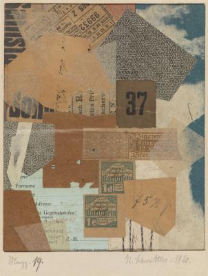 Kurt Schwitters. Collage 19