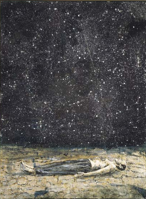 Anselm Kiefer. Shooting stars
