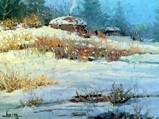 Jim Alberta. Snow in August