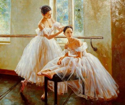 Гуань Зе-Джу. Балерины 3