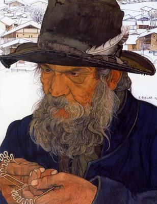 Эрнест Билер. Старик в шляпе