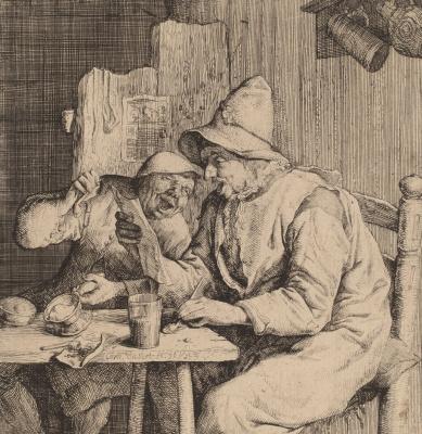 Корнелис Дюсарт. Два поющих крестьянина