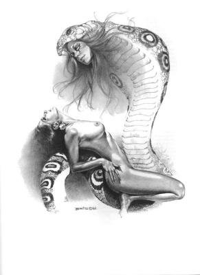 Даниэль Куэлетт. Змея