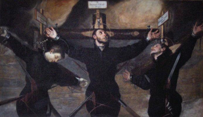 Гвидо Каньяччи. Трое мучеников-иезуитов в Японии