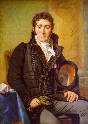 Jacques-Louis David. Seated male