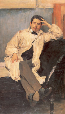 Philip Andreevich Malyavin. Portrait of the artist Konstantin Somov