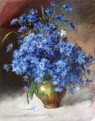 Isaac Levitan. Cornflowers