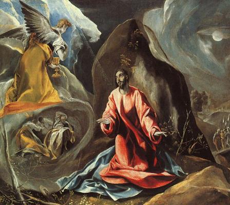 Domenico Theotokopoulos (El Greco). Agony in the garden