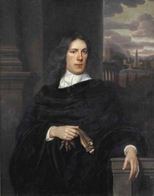 Самюэл ван Хогстратен. Портрет молодого человека с перчатками
